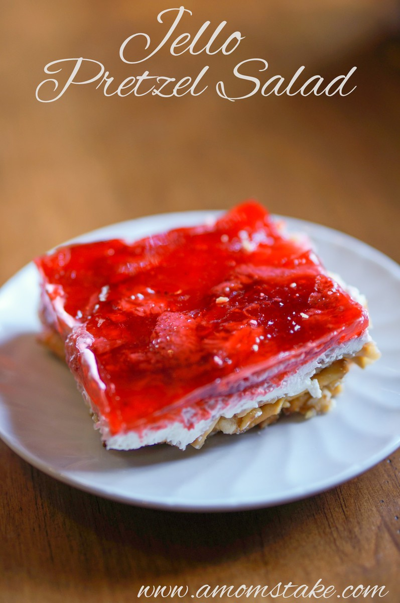 Jello Pretzel Salad Recipe