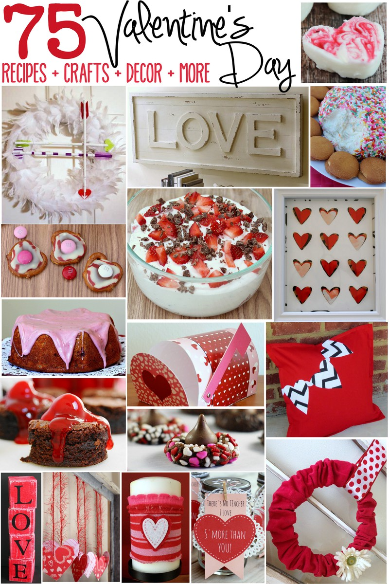 75 valentine 39 s day recipes crafts decor valentines and for Valentine s day home decorations