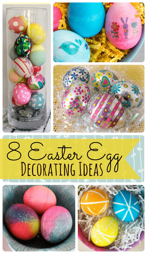 8 creative easter egg decorating ideas a mom 39 s take Creative easter egg decorating ideas