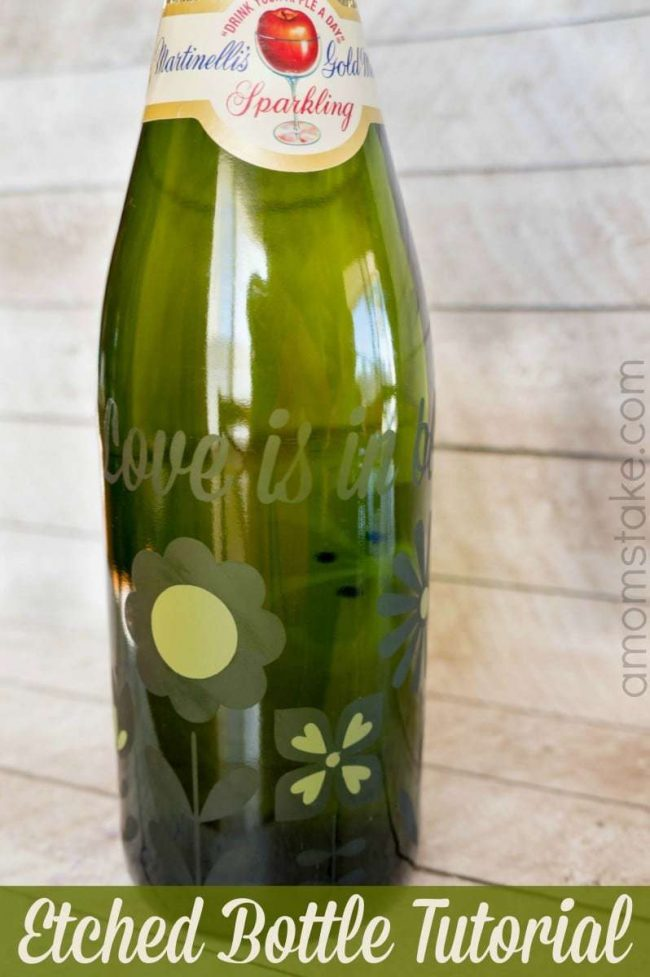 Etched Bottle Tutorial