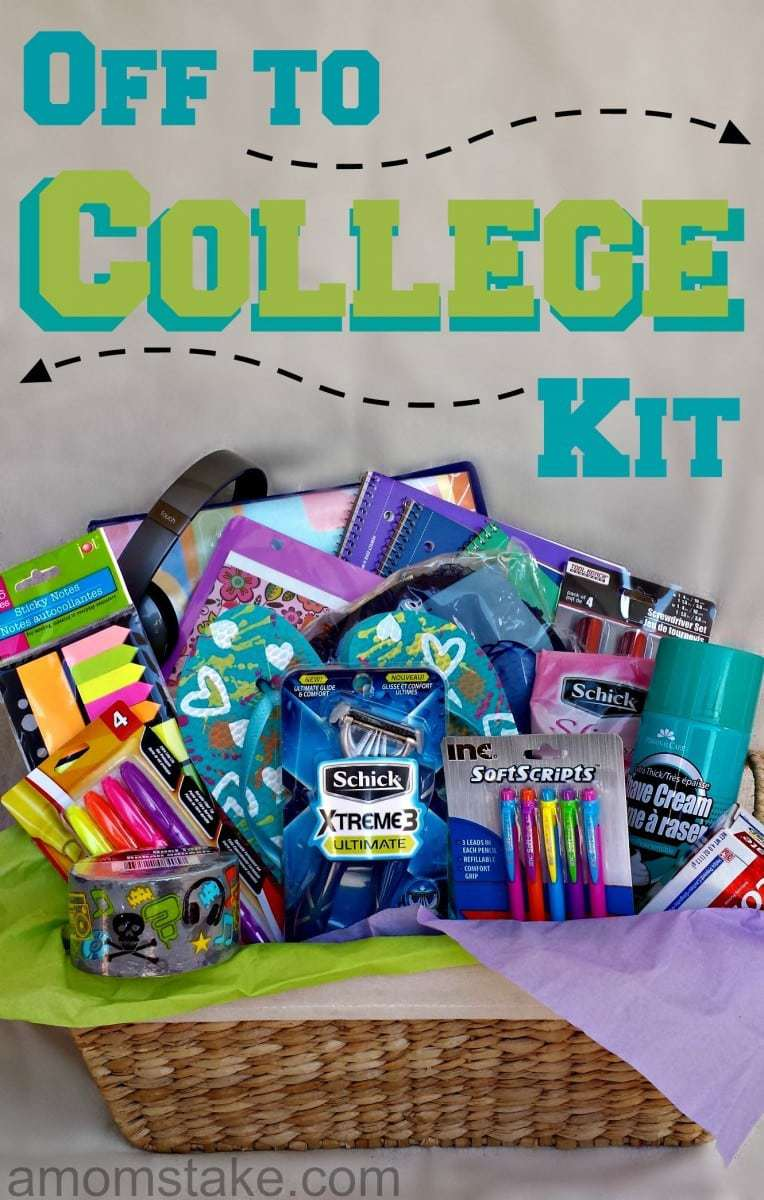Off to College Kit - A Mom's Take