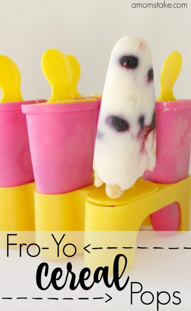 Fro-Yo CEREAL POPS