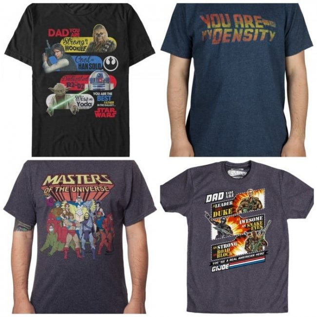 Great Father's Day Gifts 80s Tees