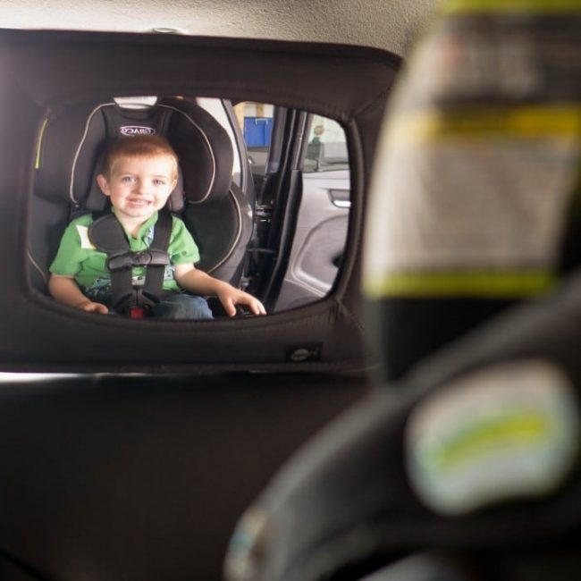 Mirror To See Child In Forward Facing Car Seat
