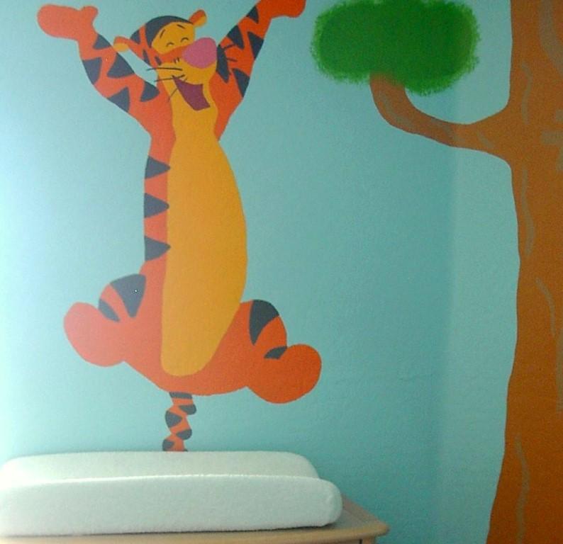 Winnie the Pooh Kids Bedroom Theme