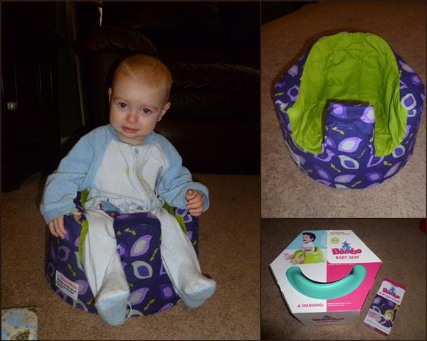 Bumbo Seat Cover - Review & Giveaway - A Mom\'s Take