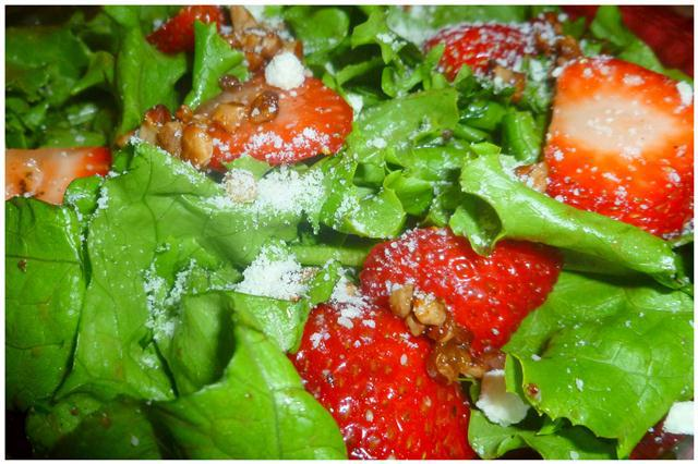 Strawberry & Balsamic Herb Salad