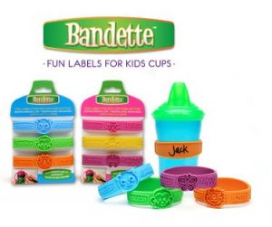 Win Bandette Cup Labels & My Spot