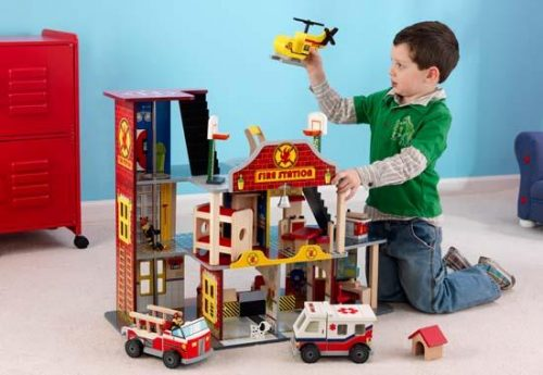 Kidkraft Deluxe Fire Rescue Set The Dollhouse For Boys Review A