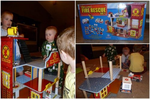 Kidkraft Deluxe Fire Rescue Set The Dollhouse For Boys Review A Mom S Take