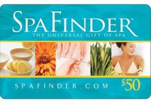 Win a SpaFinder Gift Card!