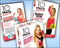 10 Minute Solution DVDs Review & Giveaway