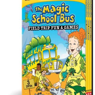 The Magic School Bus Educational DVDs Review and Coloring Page