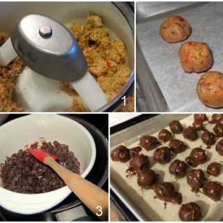Recipe: Cherry Peanut Butter Balls