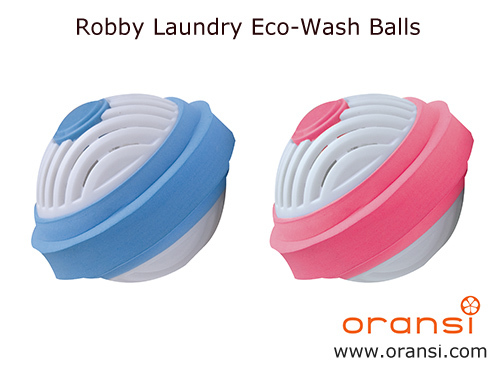 Oransi Robby Wash Laundry Ball Review & Pin it to Win it Giveaway!