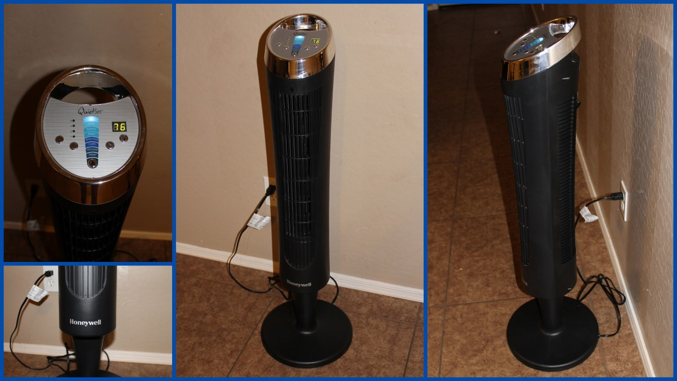 Quiet Room To Room Fan : Honeywell quietset whole room tower fan review giveaway