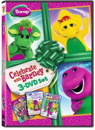 Celebrate with Barney 3-DVD Set Review