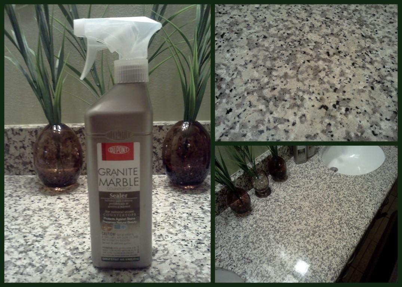 Dupont Granite Amp Marble Countertop Sealer And Cleaner
