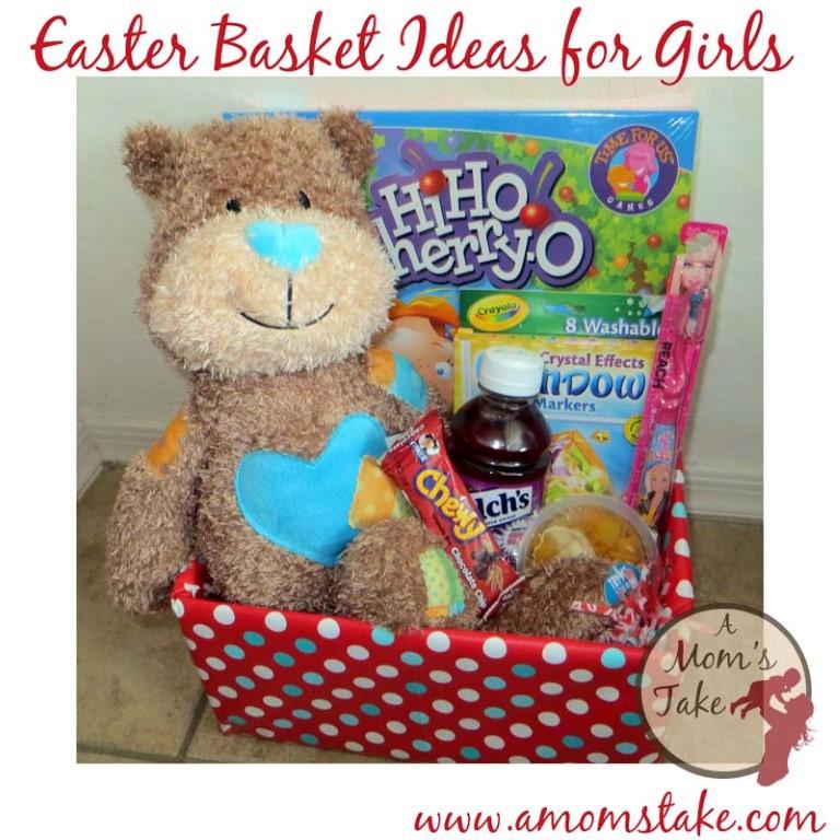 50+ Easter Basket Filler Ideas at A Mom's Take