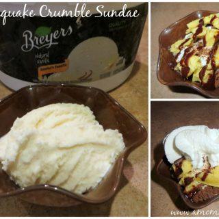 Waffle Quake Sundae Recipe