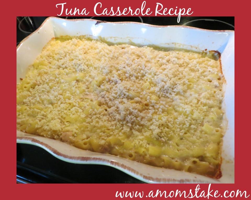 Tuna Casserole Recipe - A Mom's Takeat A Mom's Take