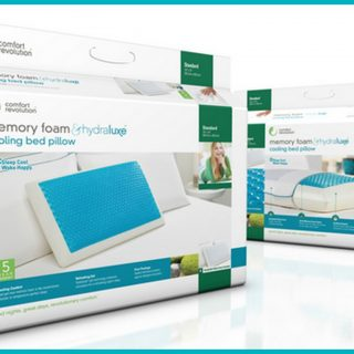 Comfort Revolution Pillow Review & Giveaway