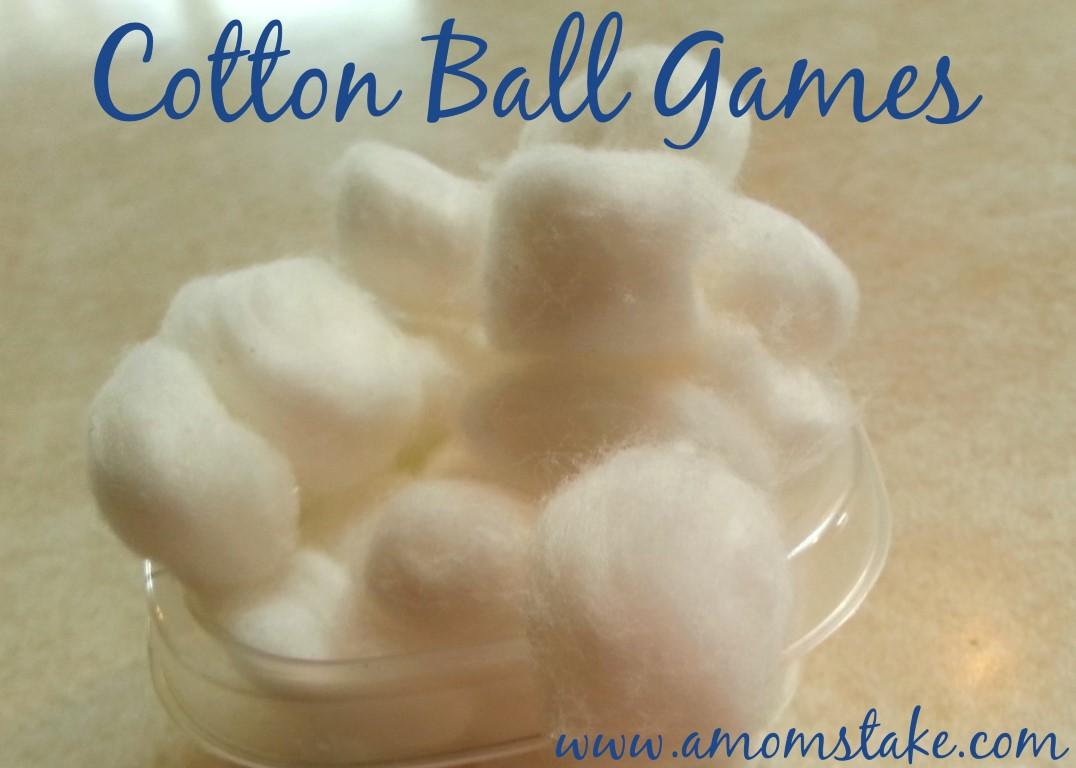 Cotton Ball Games