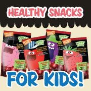 Perfect Snacks for Kids with 50% Less Sugar - Funny Face Dried Cranberries!