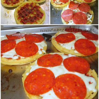 Easy Dinner Recipes: Pizzaggo Mini Pizzas Recipe