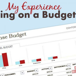 My Experiences Living on a Budget