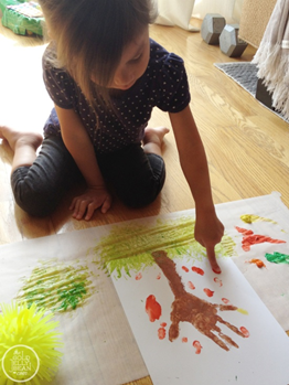 Handprint Art Craft