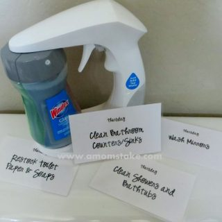Visual Chore Cards Cleaning Routine