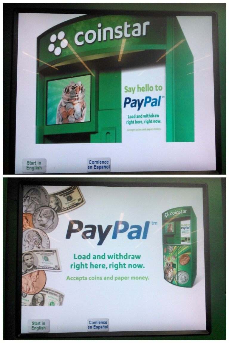 Coinstar And Paypal Easily Convert Coins To Cash A