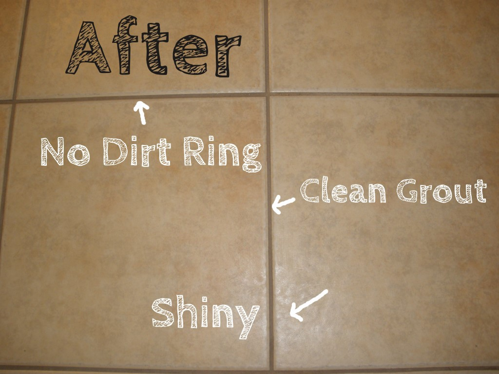 Clean Grout and Tile