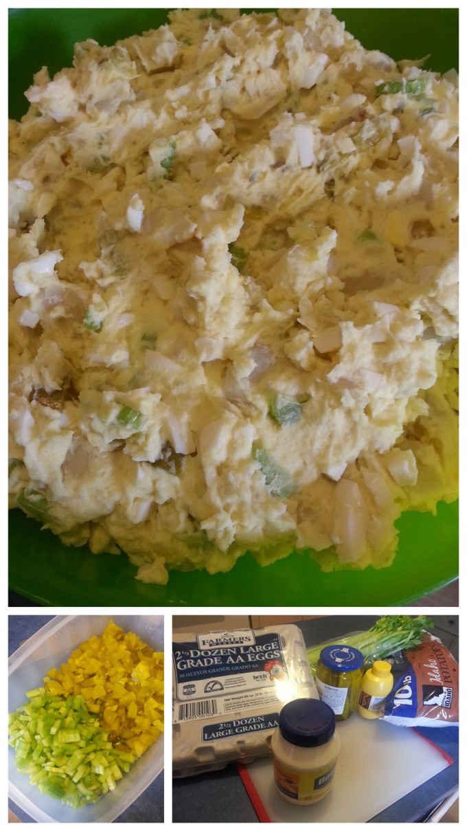 Homemade Potato Salad Recipe