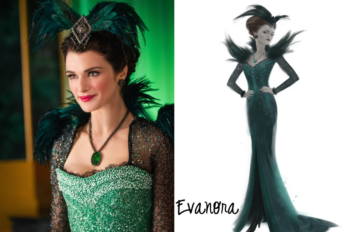 Oz Characters Evanora Costume