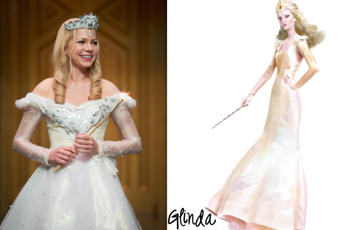 Oz Characters Glinda Costume