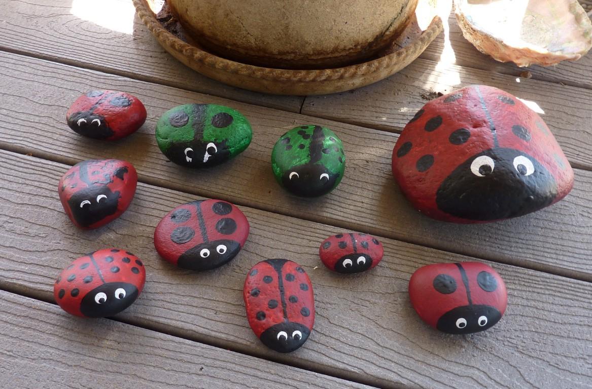 ladybug rocks 008