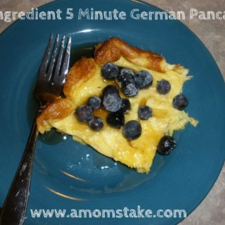 Easy German Pancakes