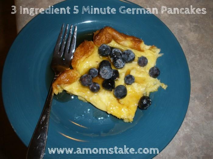 Easy German Pancakes