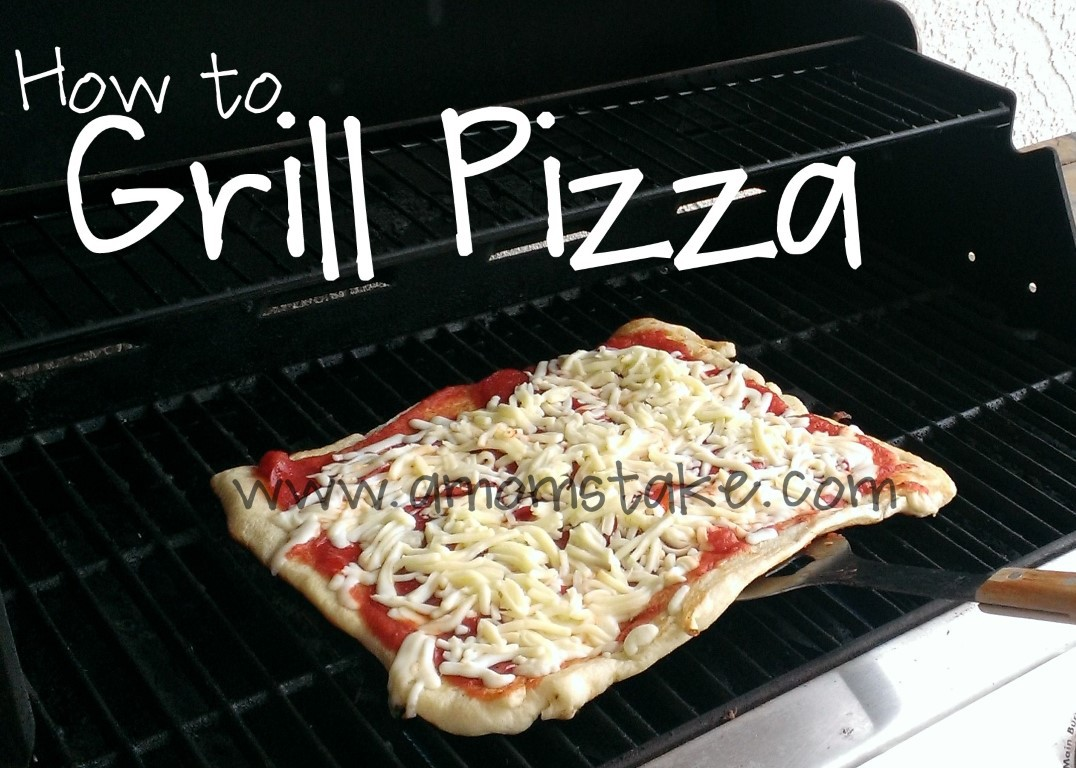 Grilling Pizza Directions