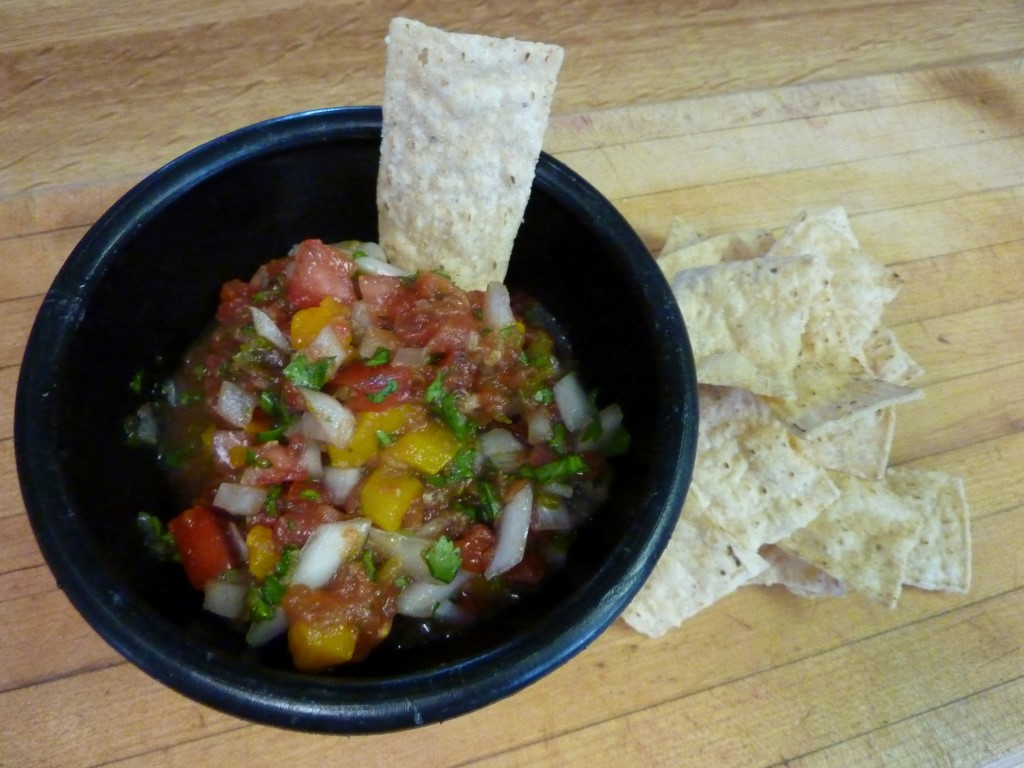 Fresh Roasted Veggies Salsa Recipe