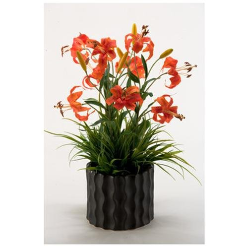 Gloriosa Lilies Planter