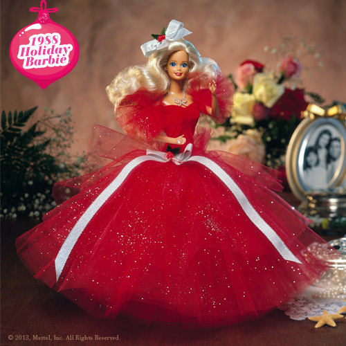 Holiday Barbie 1988 Image Picture