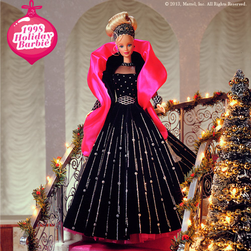 Holiday Barbie 1998 Image Picture