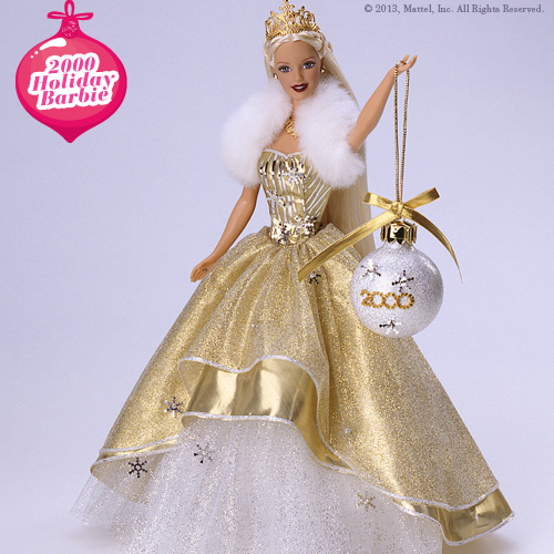 Holiday Barbie 2000 Image Picture