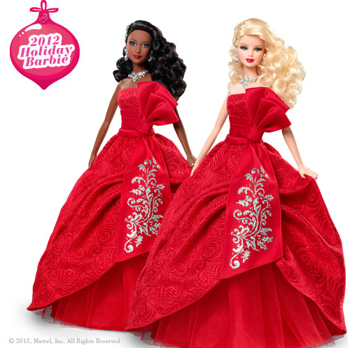 Holiday Barbie 2012 Image Picture