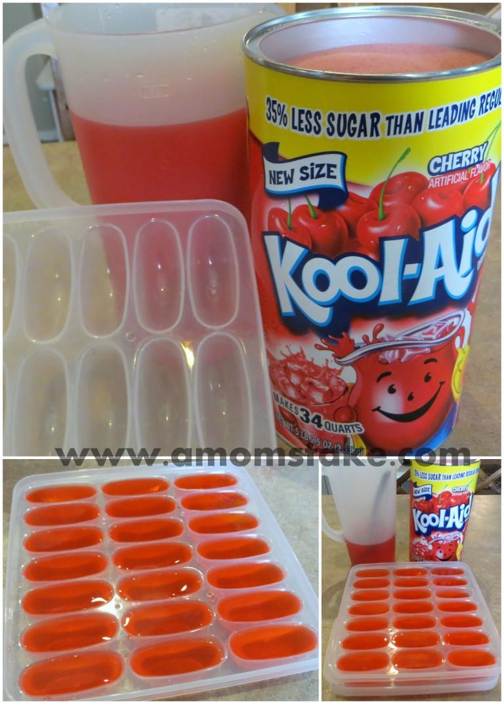 How to Make Kool-Aid Ice Cubes