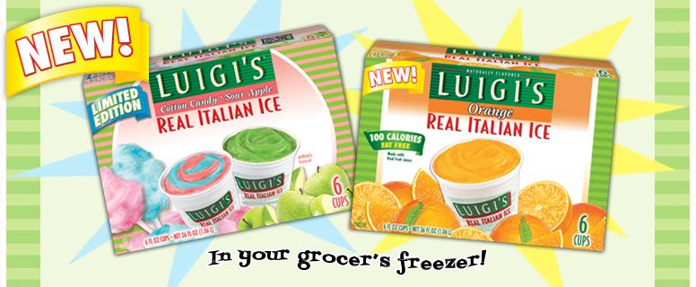 Summer With Luigi's Real Italian Ice
