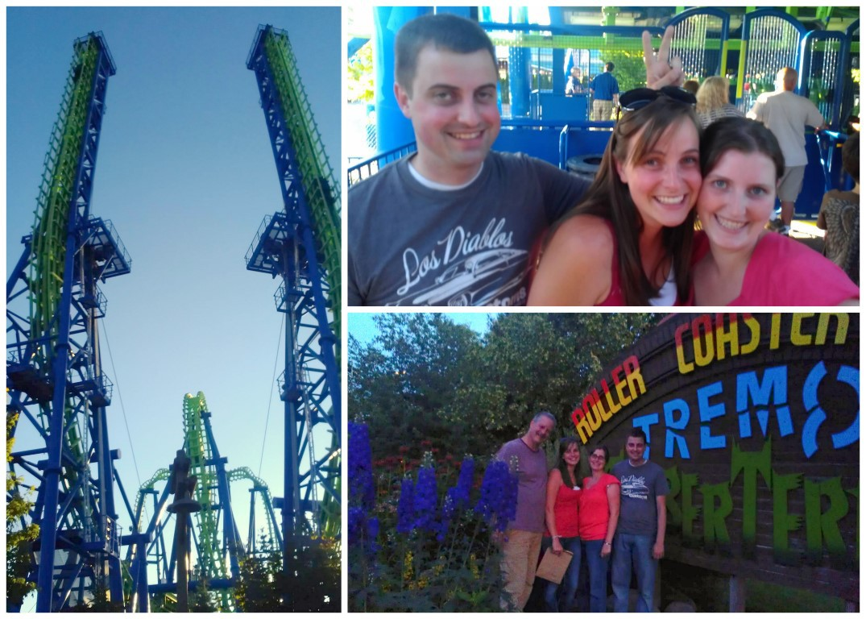 Silverwood Theme Park Summer Road Trip